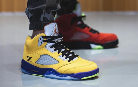 Album Ảnh On-Feet Của Air Jordan 5
